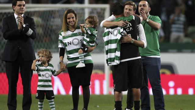 """""""O Sporting fez de mim um jogador e um homem"""""""