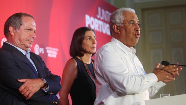 """Costa fala na """"maior vitória eleitoral"""" que """"reforça PS"""" e 'Geringonça'"""