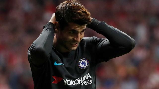 Álvaro Morata arrepende-se de ter regressado a Madrid