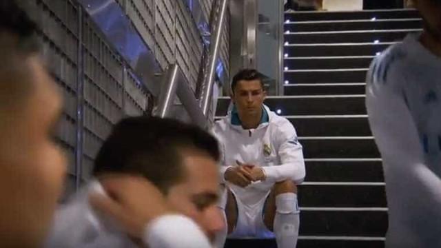Este momento de Ronaldo será concentração ou... algo mais?
