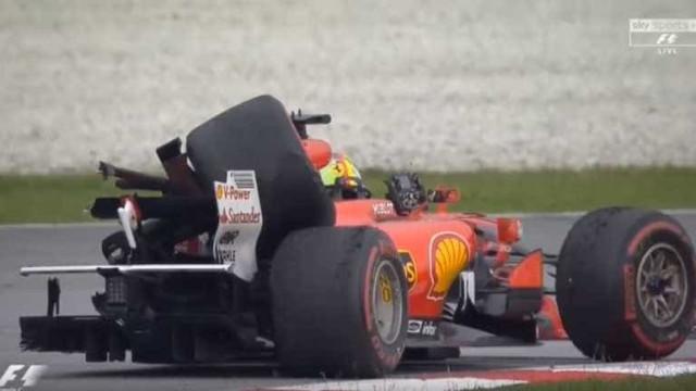 O estranho acidente entre Vettel e Strol após o GP da Malásia