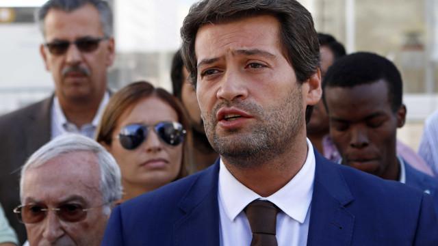 """Ventura pede ao PSD que """"ponha os olhos"""" no resultado obtido em Loures"""