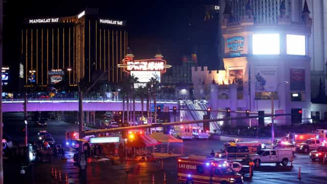 Aumenta para 50 o número de mortos em Las Vegas