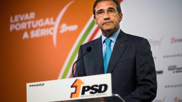 Passos Coelho vai renunciar ao mandato de deputado no final de fevereiro