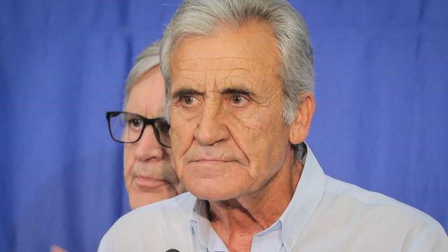 """Incêndios: Jerónimo de Sousa diz que se está na """"estaca zero"""""""