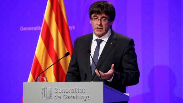 """Puigdemont: """"O governo espanhol renunciou à democracia"""""""