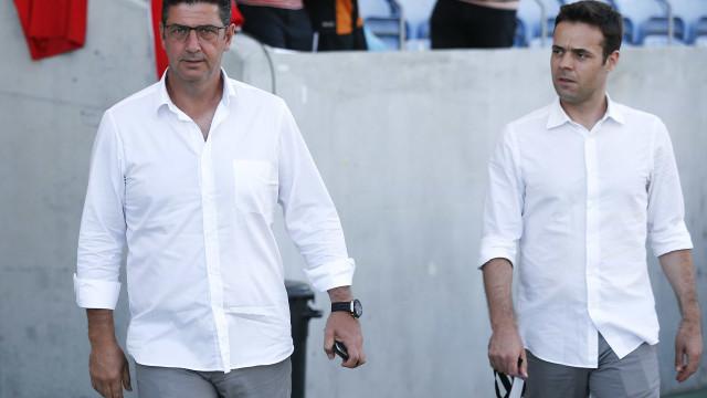 Diretor-geral do Benfica suspenso por oito dias