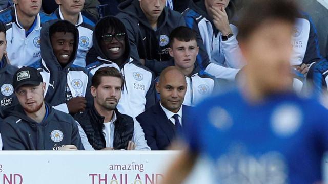 Adrien não joga, mas já encanta o Leicester City