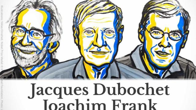 Dubochet, Frank e Henderson vencem Nobel da Química