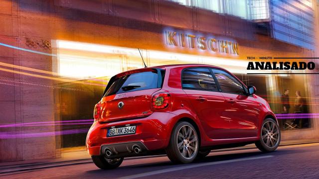 Smart Forfour Brabus: A diversão de conduzir em ponto pequeno