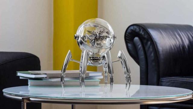 Extravagância do design: Um polvo-relógio de 30 mil euros