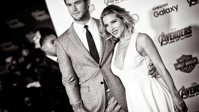 """Hemsworth sobre a mulher: """"Teve de renunciar a muito mais do que eu"""""""