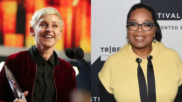 A hilariante ida de Ellen DeGeneres e Oprah ao supermercado
