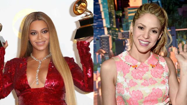 Beyoncé e Shakira juntas… E não é na música