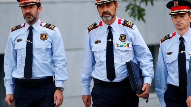Ex-chefe dos Mossos d'Esquadra acusado de sedição e associação criminosa