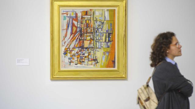 Obra gráfica de Vieira da Silva exposta em museu de Badajoz