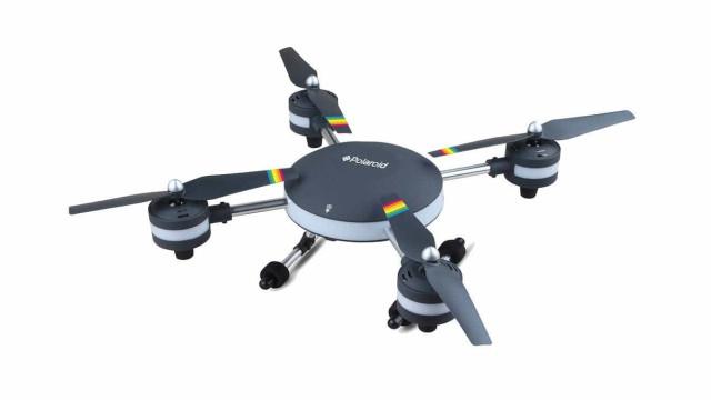 Polaroid lança quatro drones com câmara incorporada