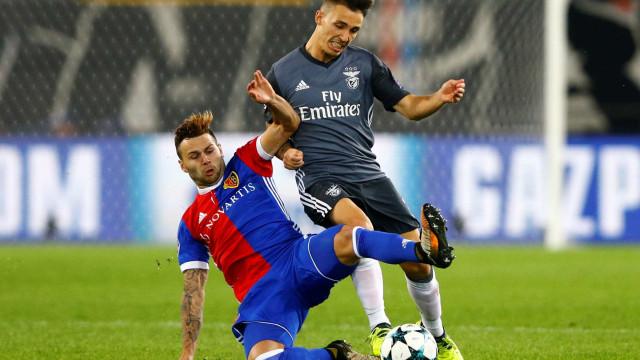 Grimaldo falha treino e está em dúvida para o CSKA