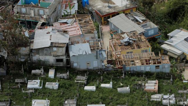 Imagens aéreas mostram como ficou Porto Rico após furacão