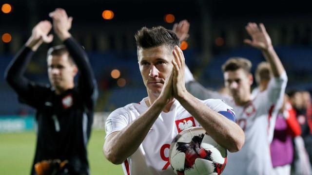 Lewandowski estabelece recorde de golos na qualificação. CR7 à espreita