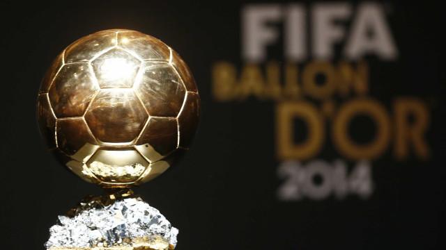 Já são conhecidos os cinco primeiros nomeados para a Bola de Ouro