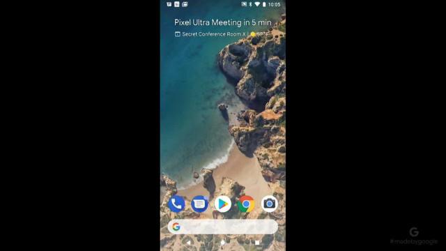 Pixel 2 tem praia portuguesa no ecrã inicial