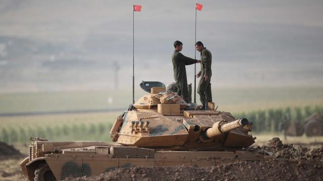 Sete soldados turcos mortos hoje no enclave curdo sírio de Afrin