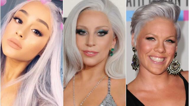 Os famosos que aderiram ao cabelo cinzento