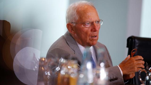 Schäuble foi dos mais céticos mas também dos primeiros a saudar Portugal