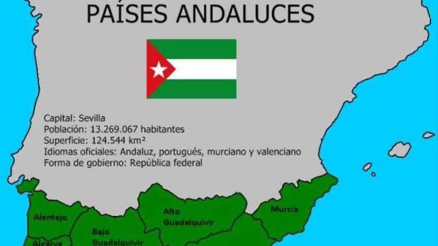 Andaluzia quer ser uma nação e englobar... o Alentejo e o Algarve
