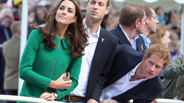 Provavelmente, Harry não será o padrinho do terceiro filho de William