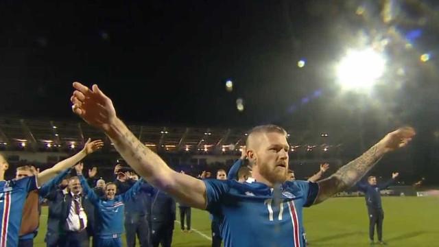 A Islândia fez história e os adeptos responderam assim...
