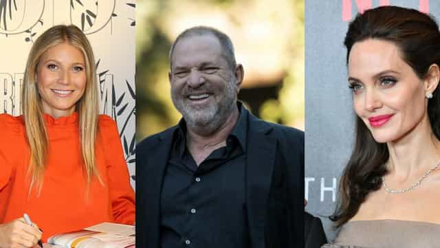 Caso Weinstein: Gwyneth Paltrow e Jolie entre as vítimas de assédio