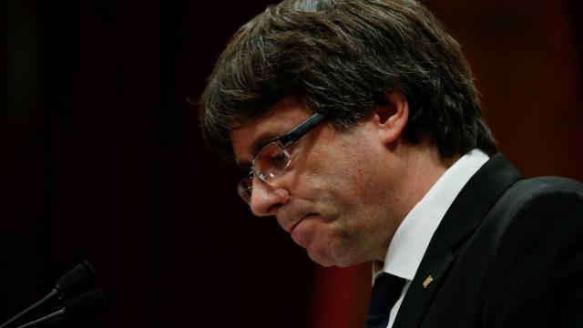 Justiça belga pede execução de mandados contra Puigdemnont