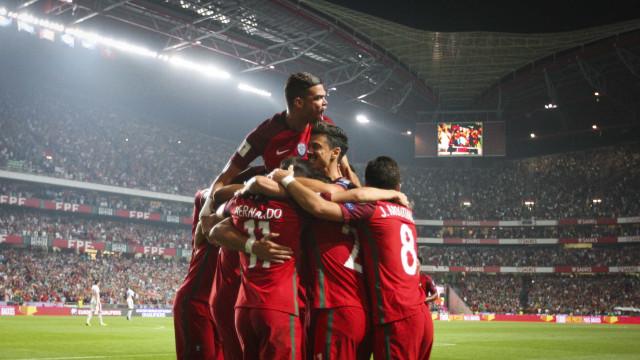 Portugal carimba passaporte para o Mundial: Até já Rússia