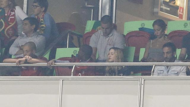 Não é só Georgina que está no camarote da Luz… Madonna também