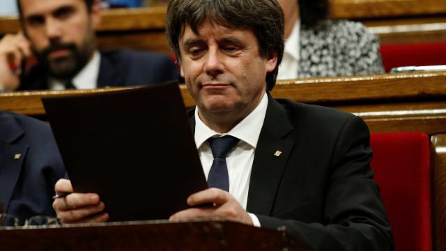 Ministério Público belga ordena detenção de Puigdemont