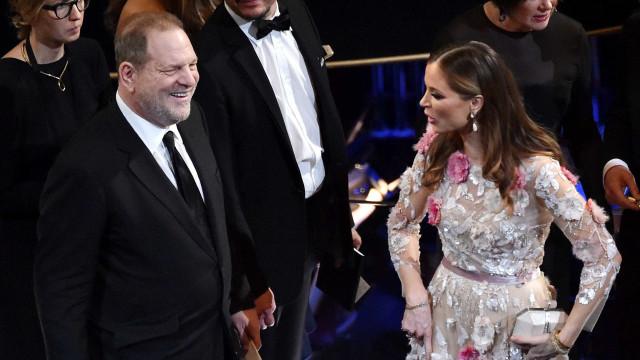 """Mulher de Weinstein anuncia separação: """"O meu coração está partido"""""""