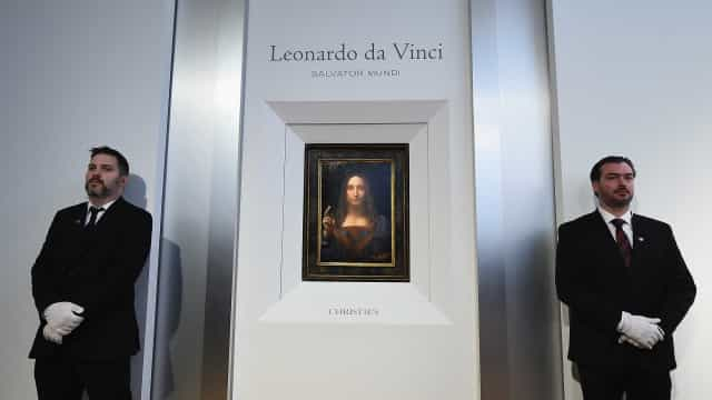 Christie's vai leiloar o último quadro de Da Vinci nas mãos de privados