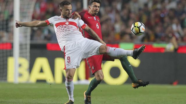 """Seferovic elogia Portugal: """"Não é só Ronaldo. São todos bons"""""""