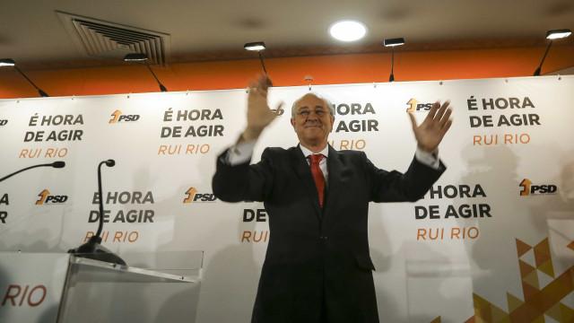 """Rui Rio é quem """"pode mudar e dar um novo fôlego"""" ao PSD"""