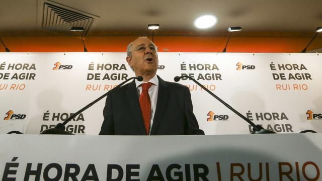 Rio não comenta movimentos criados para o substituir na liderança do PSD