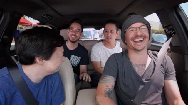 Divulgado o episódio de 'Carpool Karaoke' com Chester Bennington
