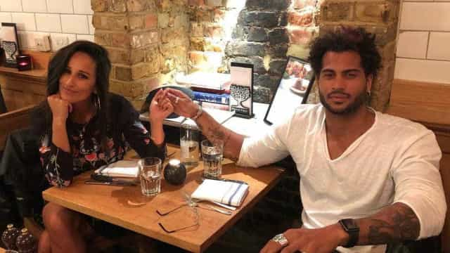 Rita Pereira em Londres com o namorado