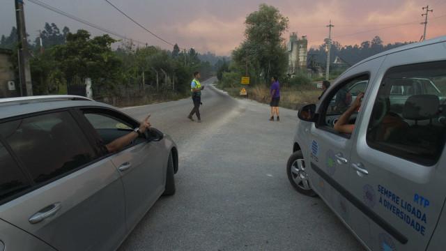 A1 cortada entre Albergaria e Mealhada devido a incêndio