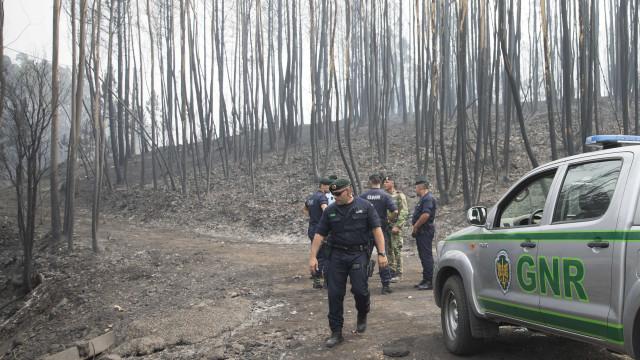 Incêndios: Duas estradas cortadas em Braga e Aveiro