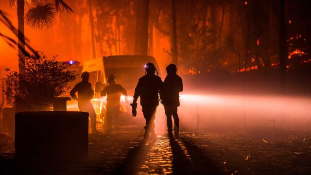 Incêndio já fez cinco mortos, incluindo uma mulher grávida