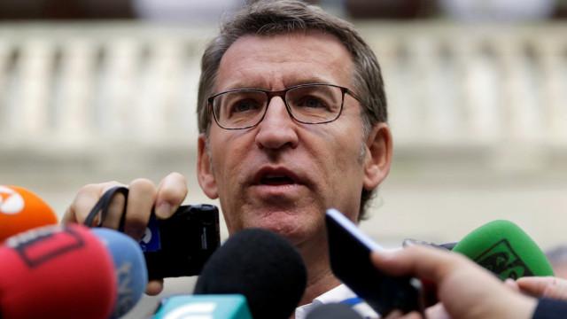 Presidente do governo da Galiza culpa Portugal pelos incêndios