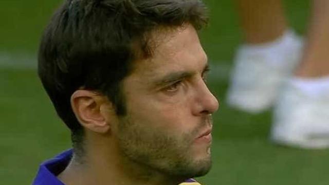 Kaká não conteve as lágrimas no seu último jogo pelo Orlando City