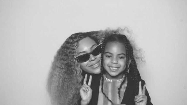 Beyoncé está totalmente dedicada à maternidade
